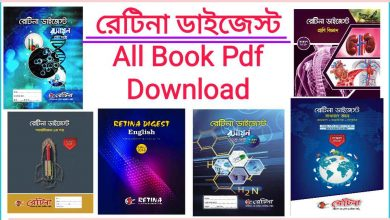 Photo of Retina digest book Pdf free Download and Question Bank