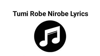 Photo of Tumi Robe Nirobe Lyrics – তুমি রবে নীরবে লিরিক